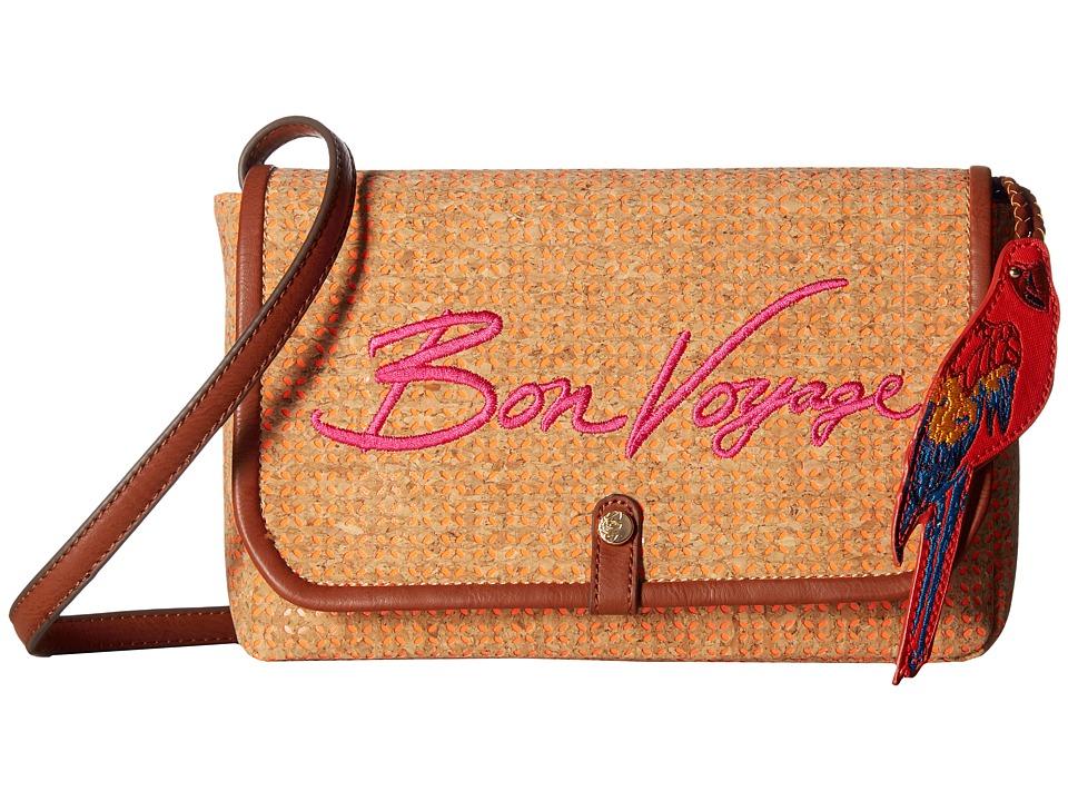 Tommy Bahama - Parrot Bay Convertible Clutch Crossbody (Sunset) Cross Body Handbags
