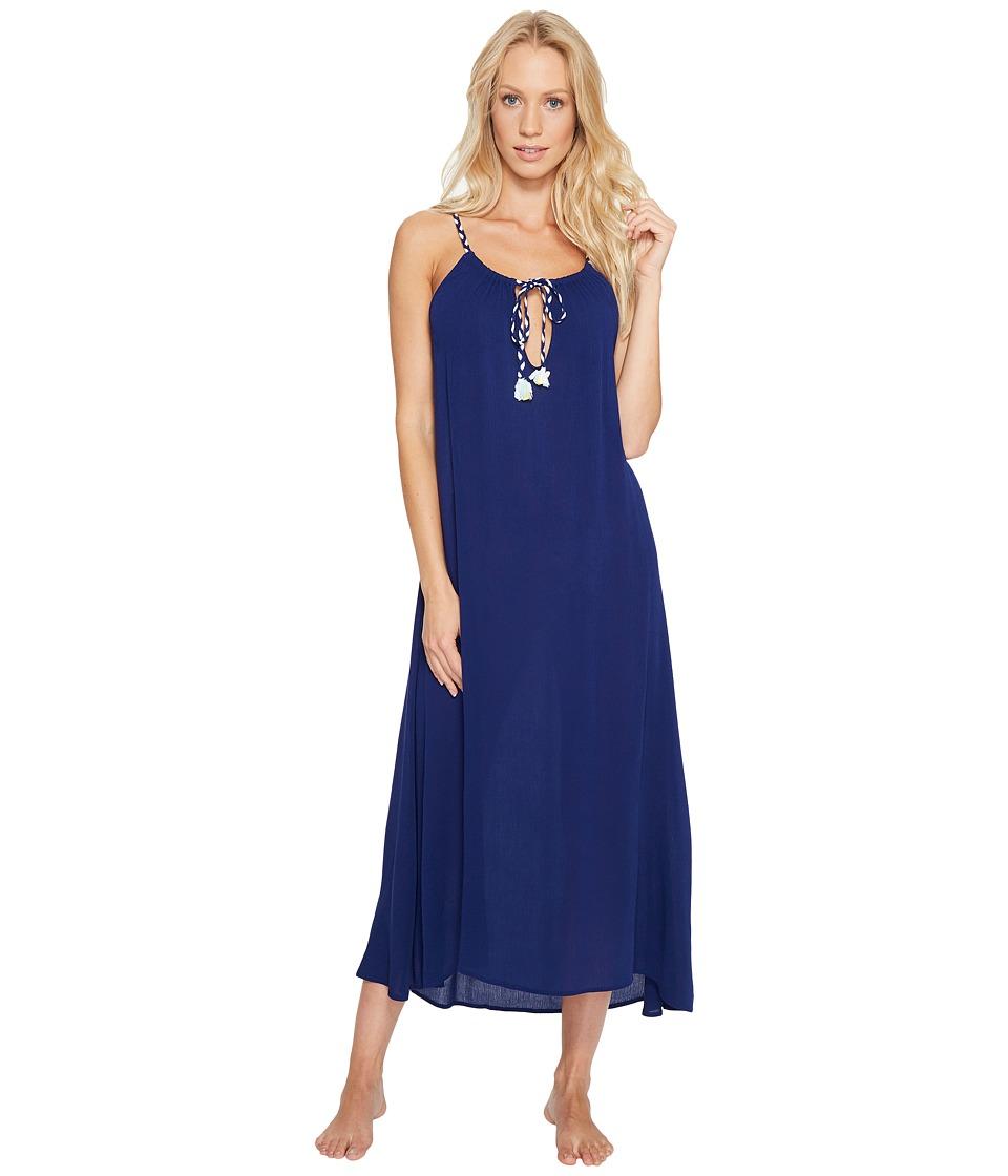 Josie - Sweet Melody Gown (Midnight Navy) Women's Dress
