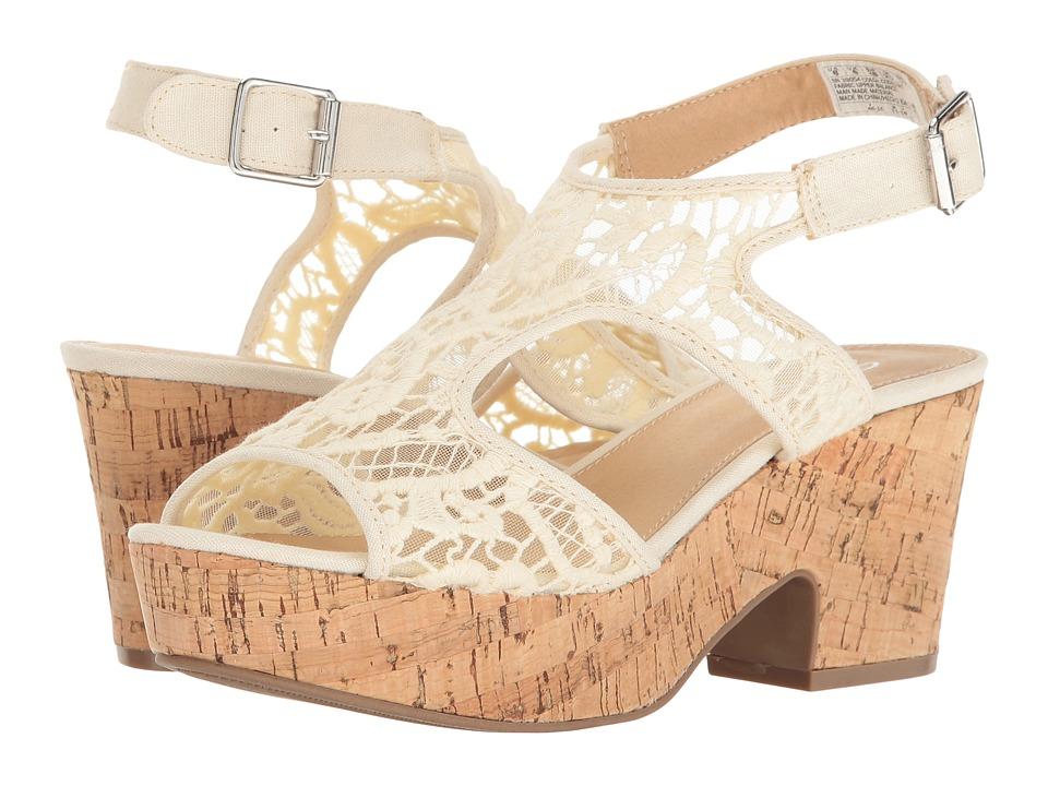 SKECHERS - Livin' Dream Sassy Pants (Natural) Women's Clog/Mule Shoes