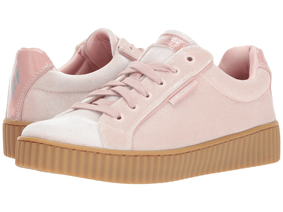 SKECHERS Street - Mila (Light Pink) Women's Lace up casual Shoes