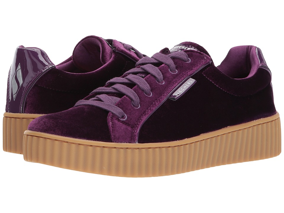 SKECHERS Street - Mila (Purple) Women's Lace up casual Shoes