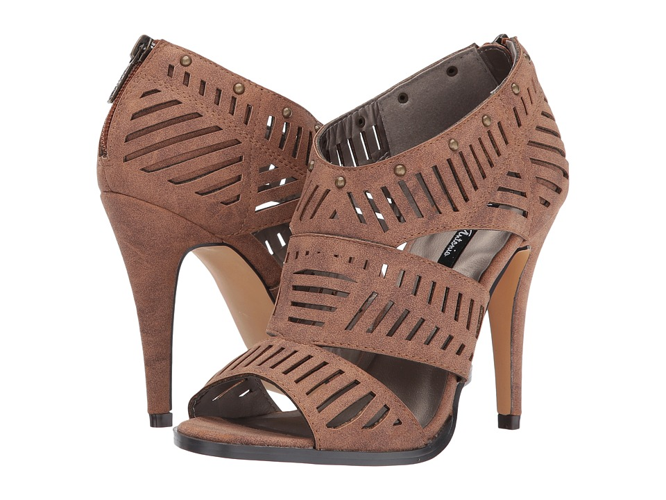 Michael Antonio - Lorett (Cognac) Women's Dress Sandals