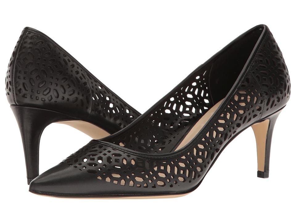 Nine West - Shavar (Black Leather 2) Women's 1-2 inch heel Shoes