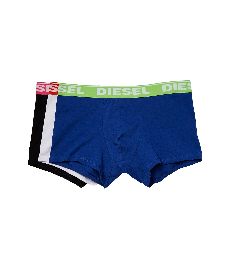 Diesel - Shawn Trunk AFN 3-Pack (Black/White/Blue) Men's Underwear
