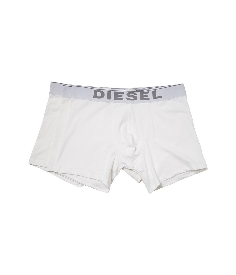 Diesel - Sebastian NTGA 3-Pack (White) Men's Underwear