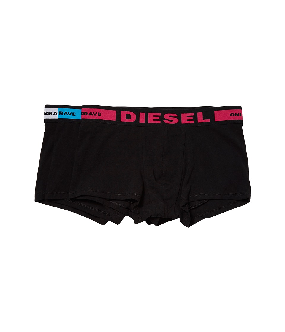 Diesel - Shawn 3-Pack Trunk BAOF (Pink/White/Blue) Men's Underwear