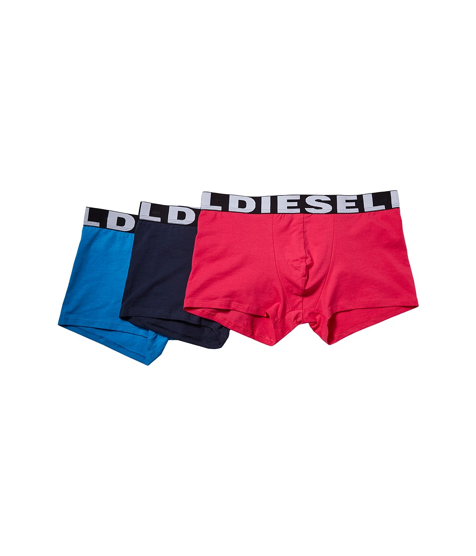 Diesel - Shawn 3-Pack Boxer Shorts AAMT (Pink/Navy/Blue) Men's Underwear