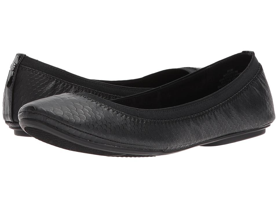 Bandolino - Edition (Black Reptile) Women's Flat Shoes