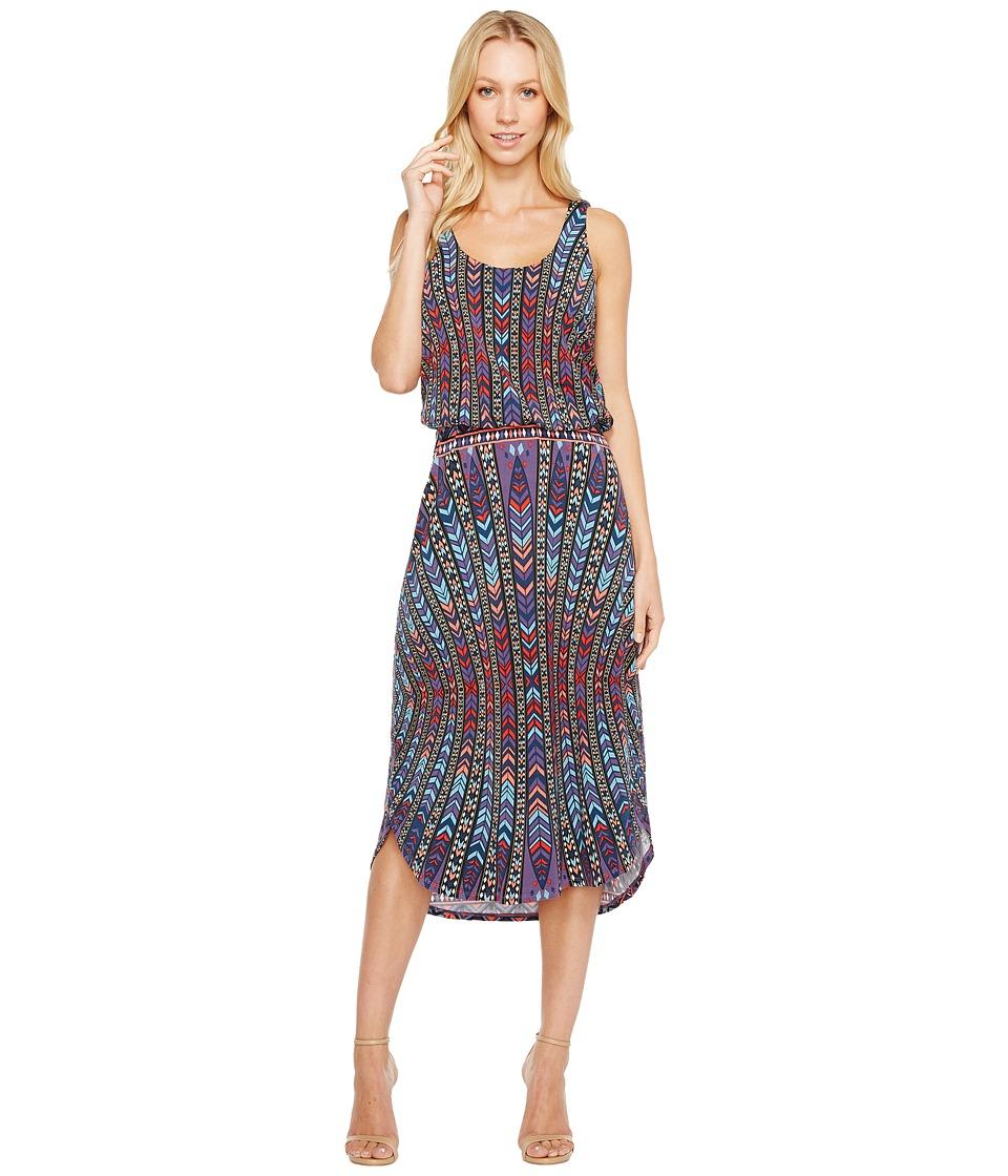Tart Soraya Midi Dress (Peacock Stripe) Women