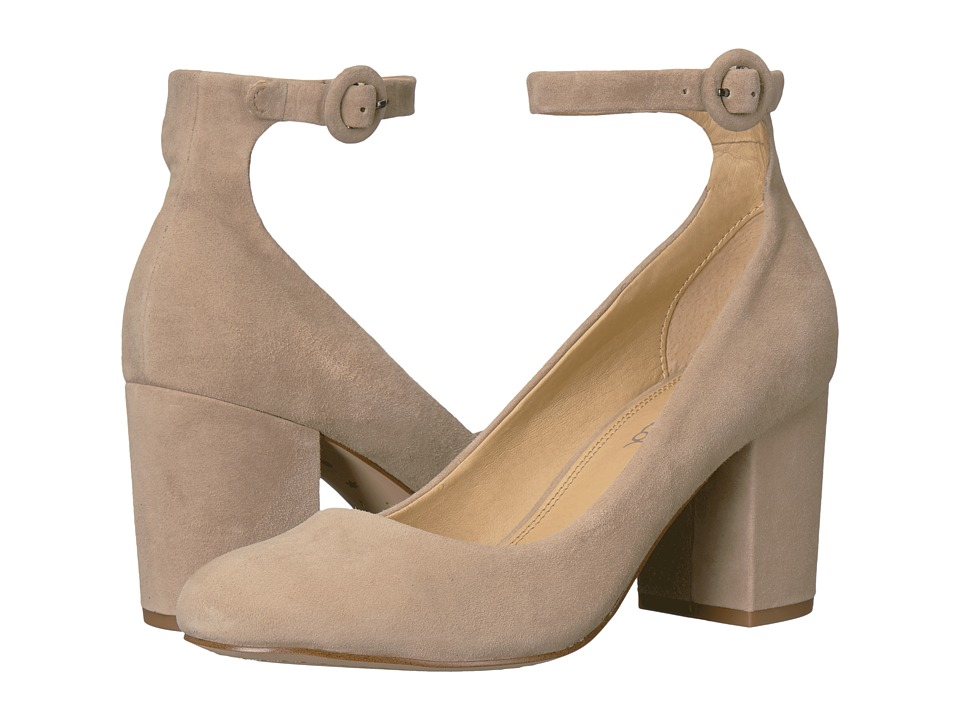 Splendid Rosie Light Taupe Suede Shoes