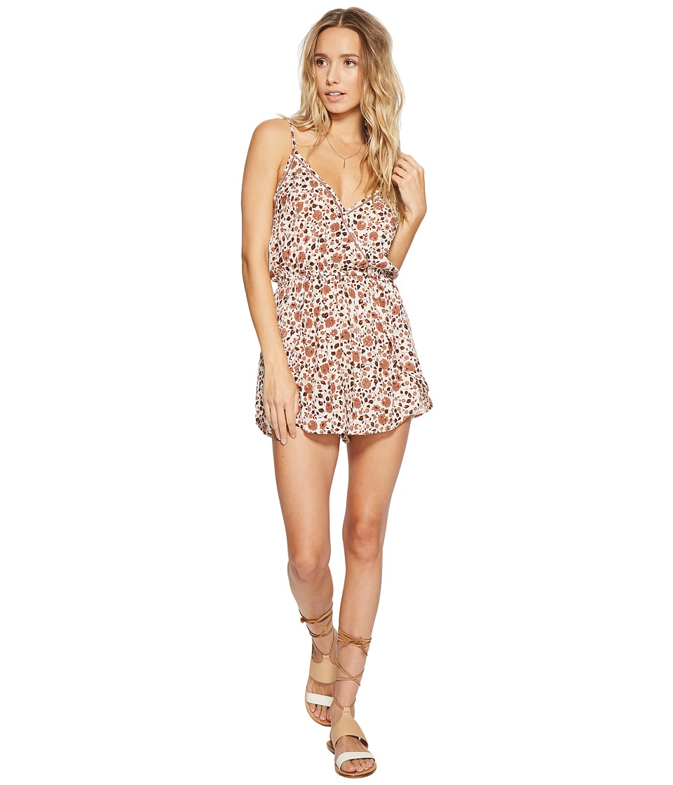 Amuse Society - Bendita Romper (Taupe) Women's Jumpsuit & Rompers One Piece