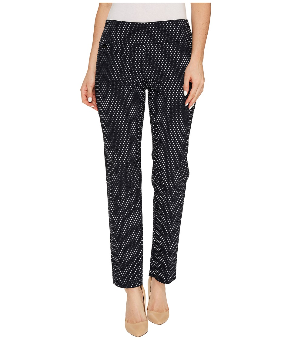 Lisette L Montreal - Magical Lycra Dots (Navy/White) Women's Casual Pants