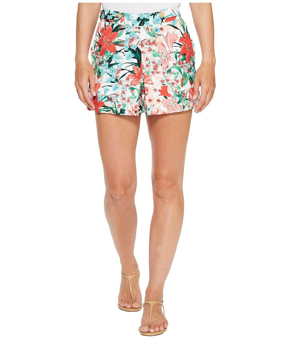 XOXO - Tab Waisted Shorts (Multi 8) Women's Shorts