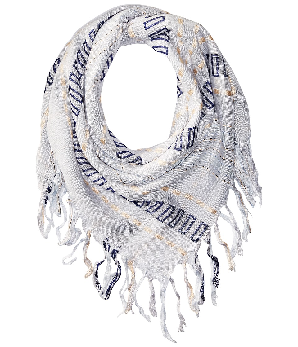 BCBGeneration - Keep Me Up Bandana (Hazy Blue) Scarves