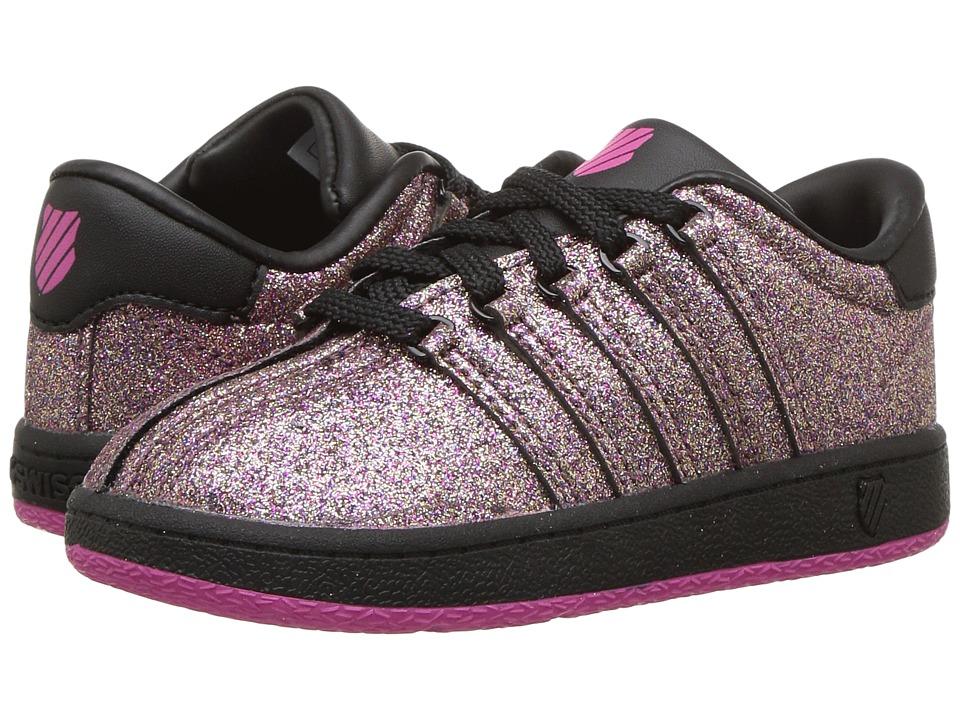 K-Swiss Kids Classic VNtm (Infant/Toddler) (Multi Sparkle) Girls Shoes
