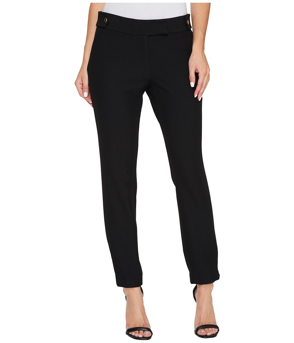 Rachel Zoe Twill Suiting Lana Pants (Black) Women