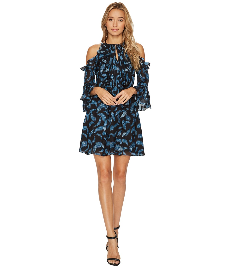Rachel Zoe Feather Print Vikki Dress (Multi) Women
