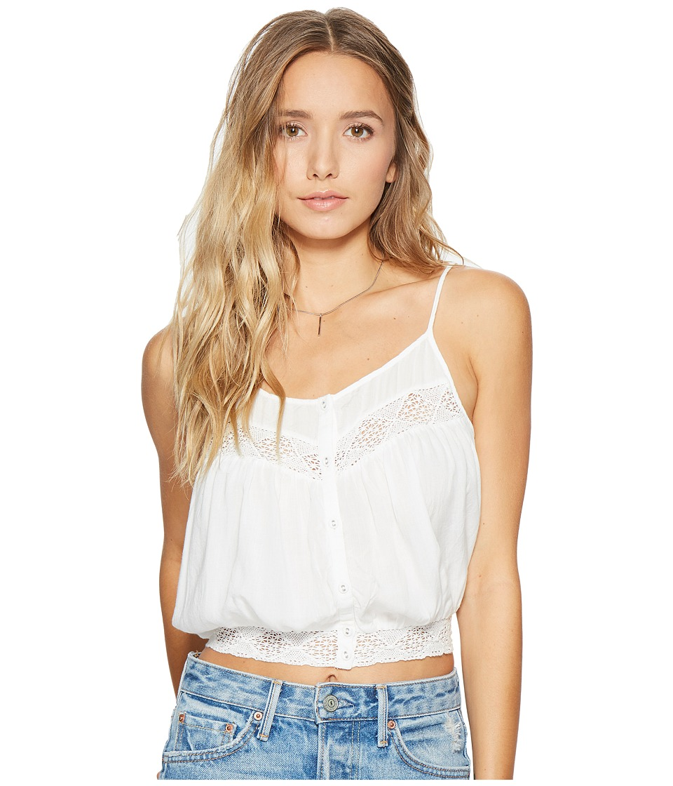 Amuse Society - Jaylen Woven Cami Top (Casa Blanca) Women's Clothing