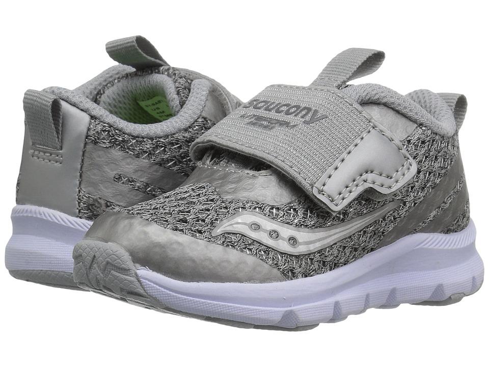 Saucony Kids Liteform (Toddler/Little Kid/Big Kid) (Light Grey) Girls Shoes