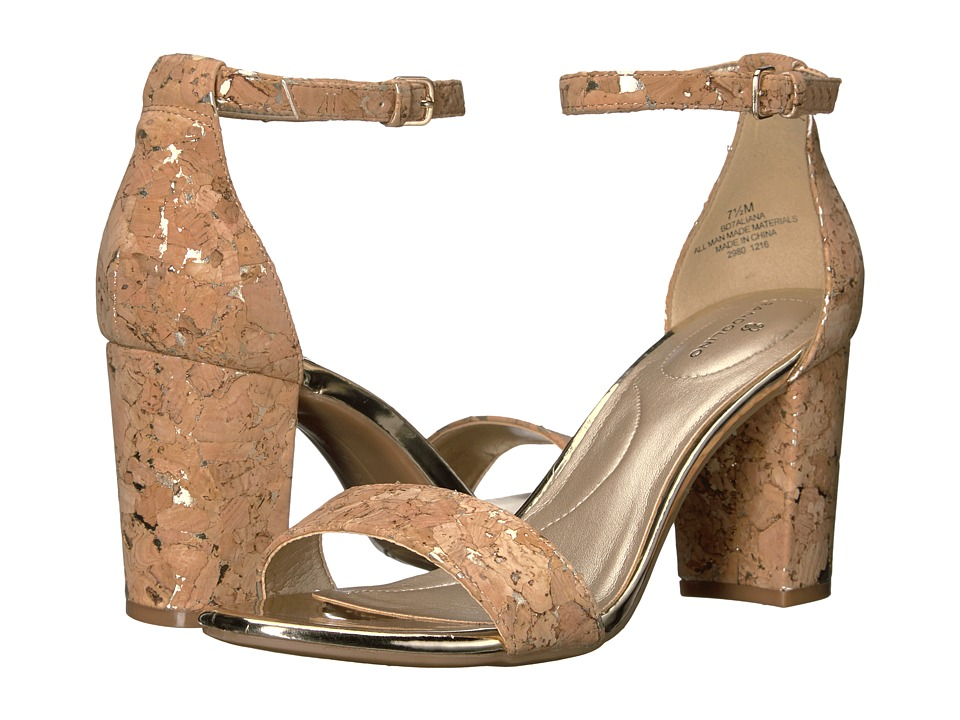 Bandolino - Aliana (Natural Gold Cork) Women's Shoes