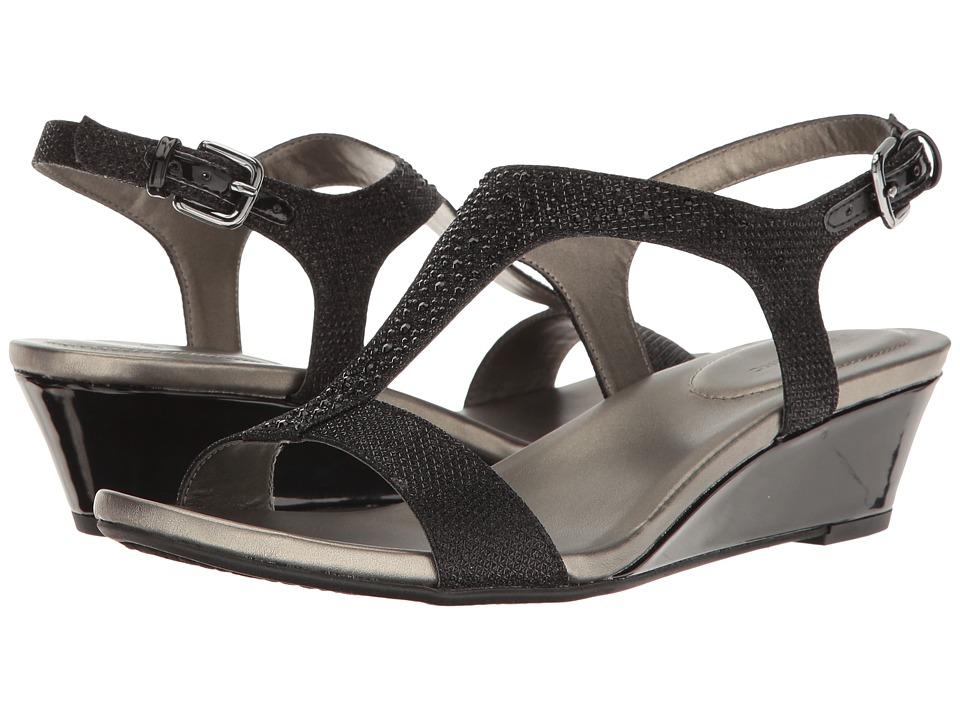 Bandolino - Garson (Black Fabric) Women's Shoes
