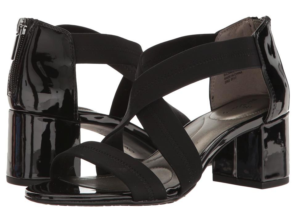 Bandolino - Shammy (Black Fabric) Women's Shoes