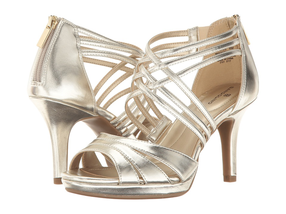 Bandolino - Sadie (Light Gold Synthetic) Women's Shoes