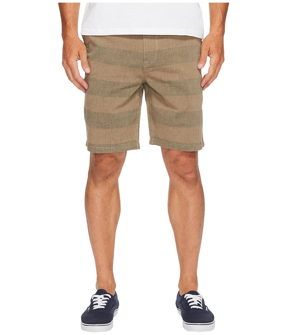 Roark - Porter Chambray Shorts (Brown) Men's Shorts