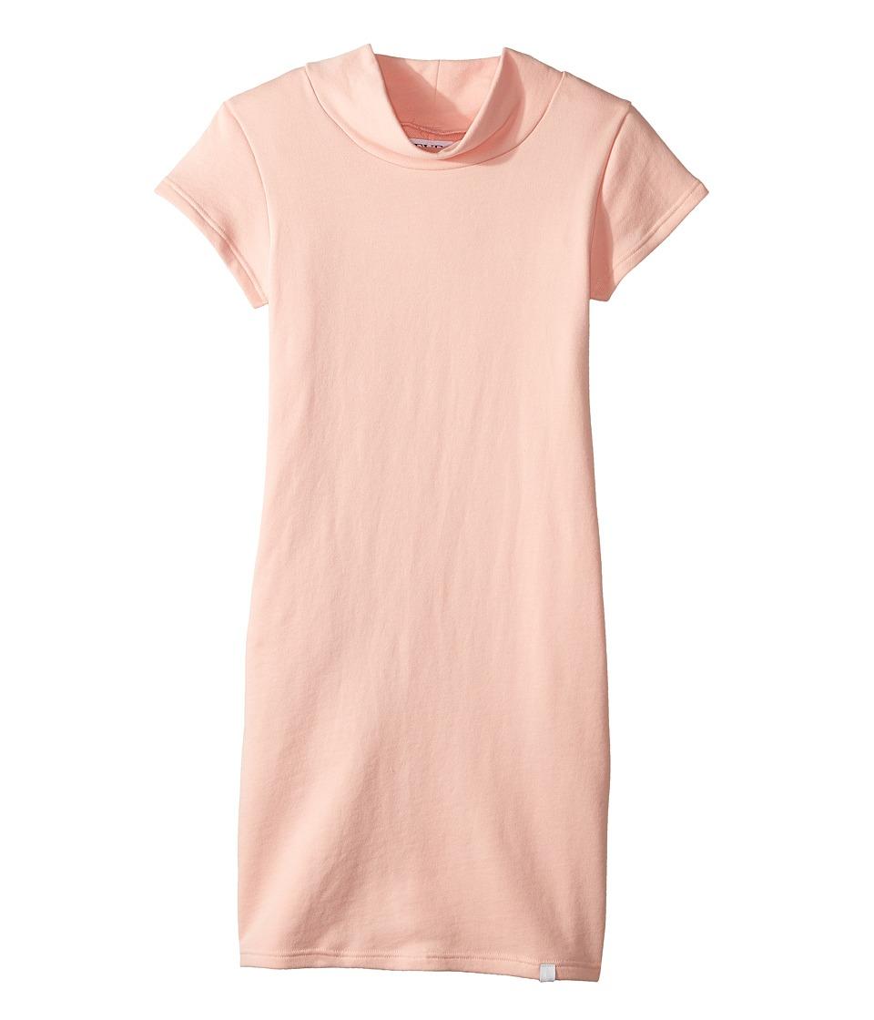 eve jnr Fleece Midi Dress (Little Kids/Big Kids) (Pink) Girl