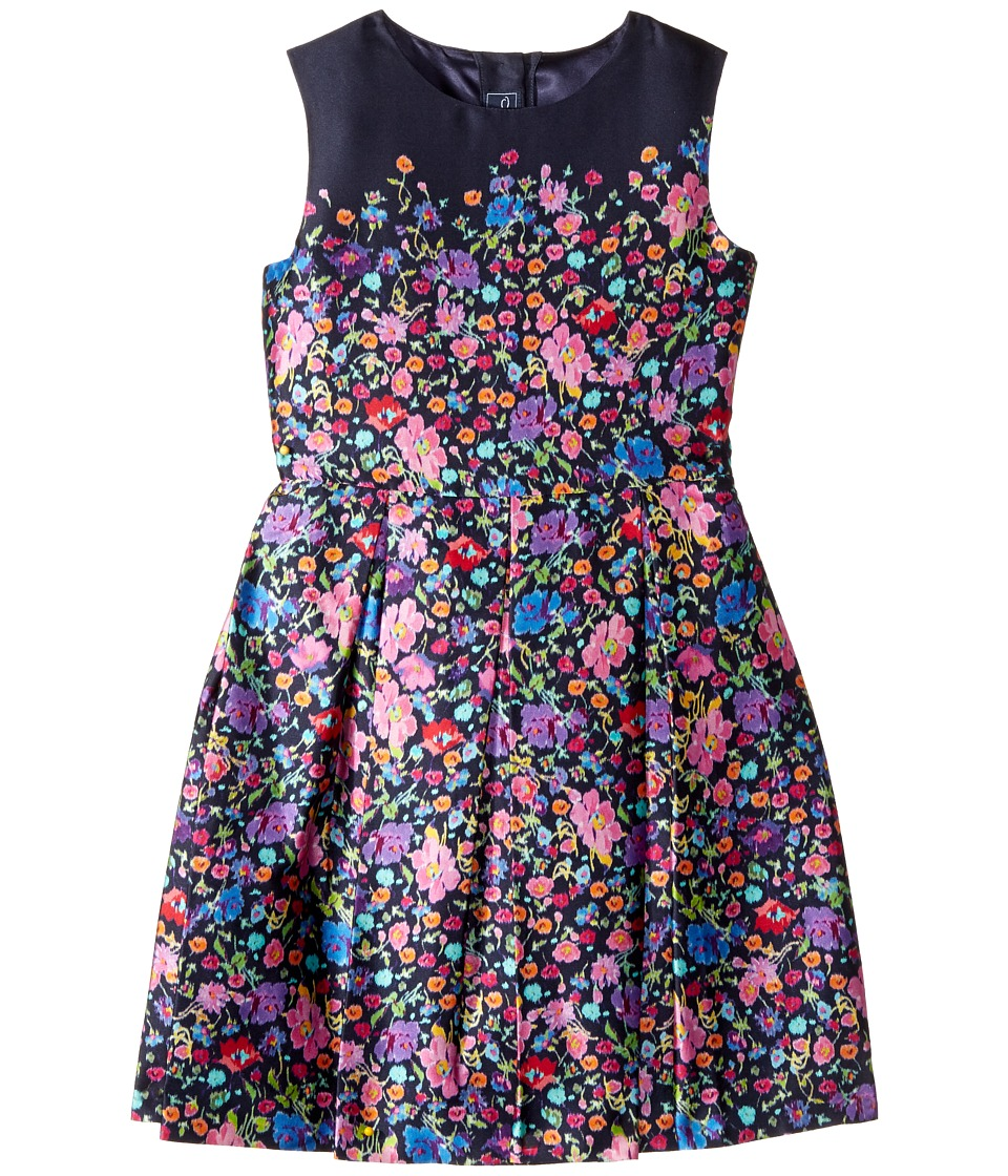 Oscar de la Renta Childrenswear Chine Garden Mikado Party Dress