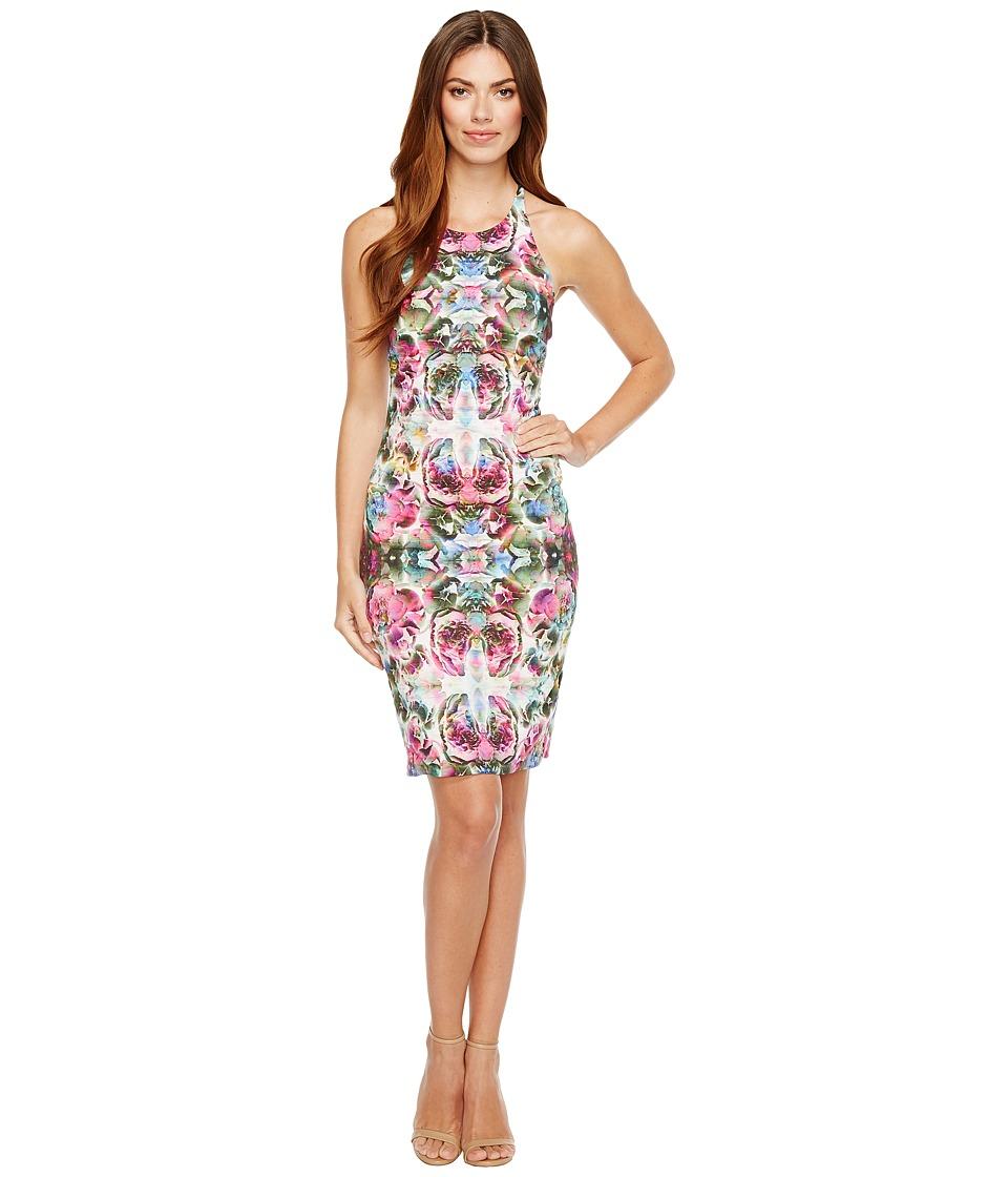 Nicole Miller Adaline Halter Dress (Multi) Women