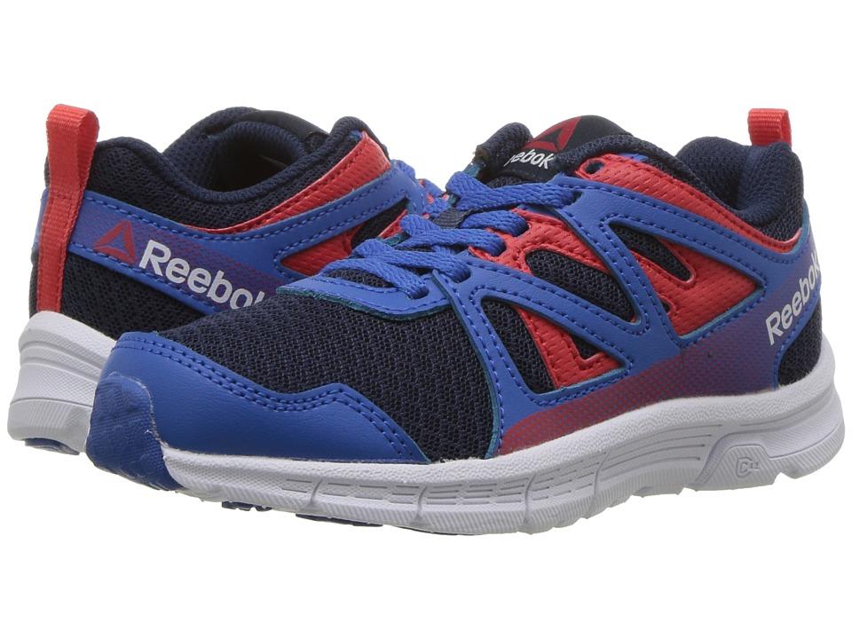 Reebok Kids - Run Supreme 3.0 (Little Kid/Big Kid) (Awesome Blue/Collegiate Navy/Primal Red) Boys Shoes