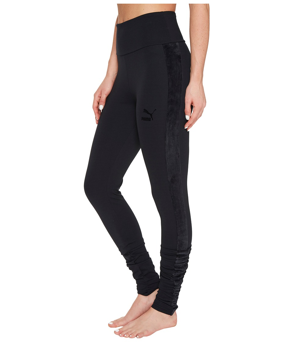 PUMA - Xtreme Elongated Leggings (PUMA Black) Women's Casual Pants