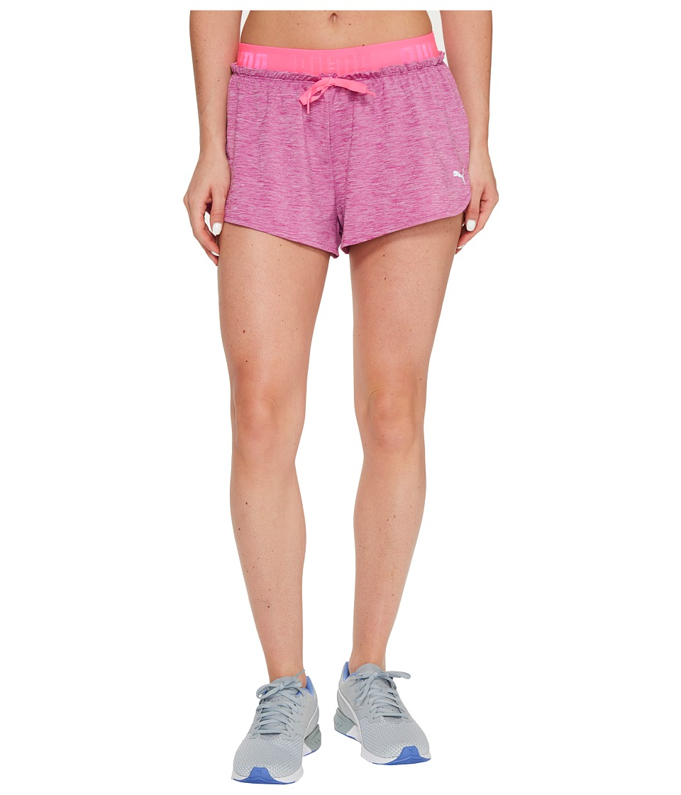 PUMA - Transition Drapey Shorts (Ultra Magenta/Knockout Pink) Women's Shorts