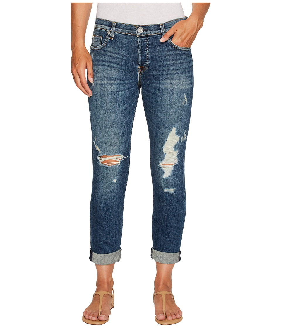 Hudson - Riley Crop Relaxed Straight in Optimize (Optimize) Women's Jeans