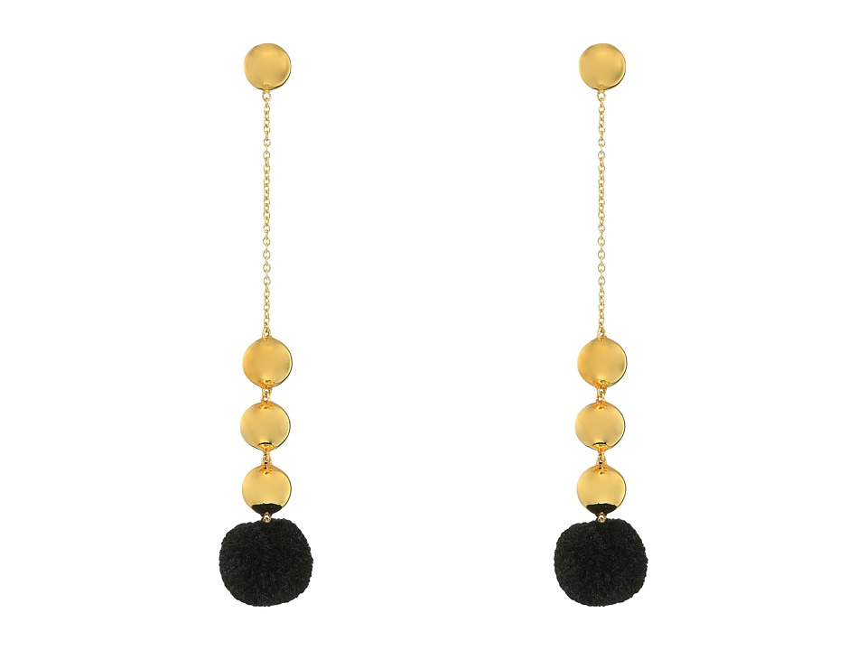 Elizabeth and James - Boca Earrings (Black) Earring