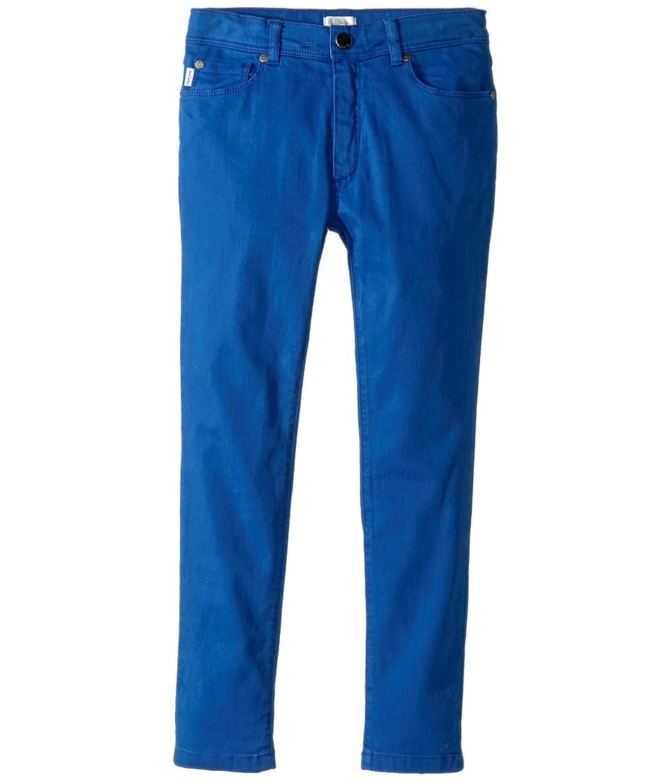 Image of Paul Smith Junior - Fitted Jeans in Royal Blue (Big Kids) (Royal Blue) Boy's Jeans