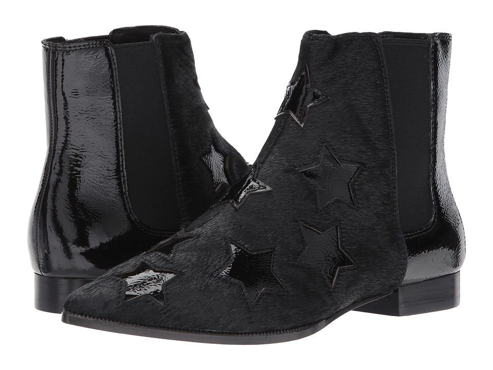 Image of ASH - Bliss (Black/Black Pony Hair/Caram) Women's Shoes