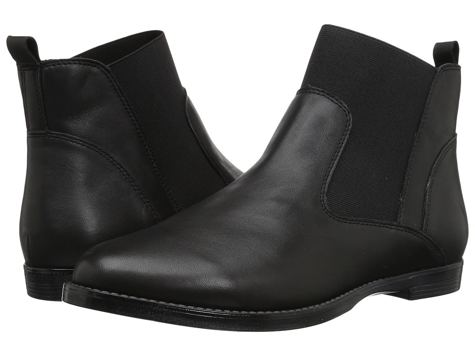 Bella-Vita Rayna (Black Leather) Women