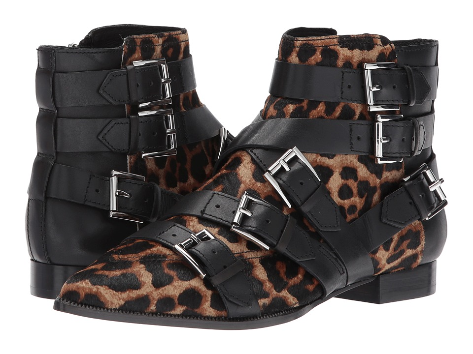 Image of ASH - Blast (Wilde/Black Pony Leopardo) Women's Shoes