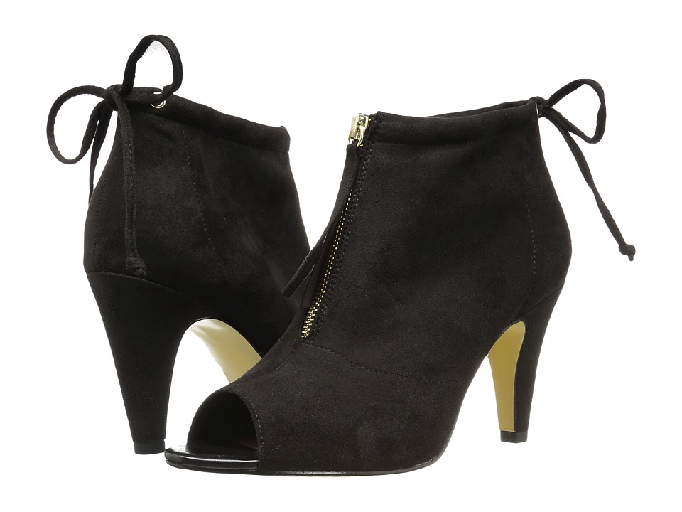 Bella-Vita Nicky II (Black Super Suede) Women