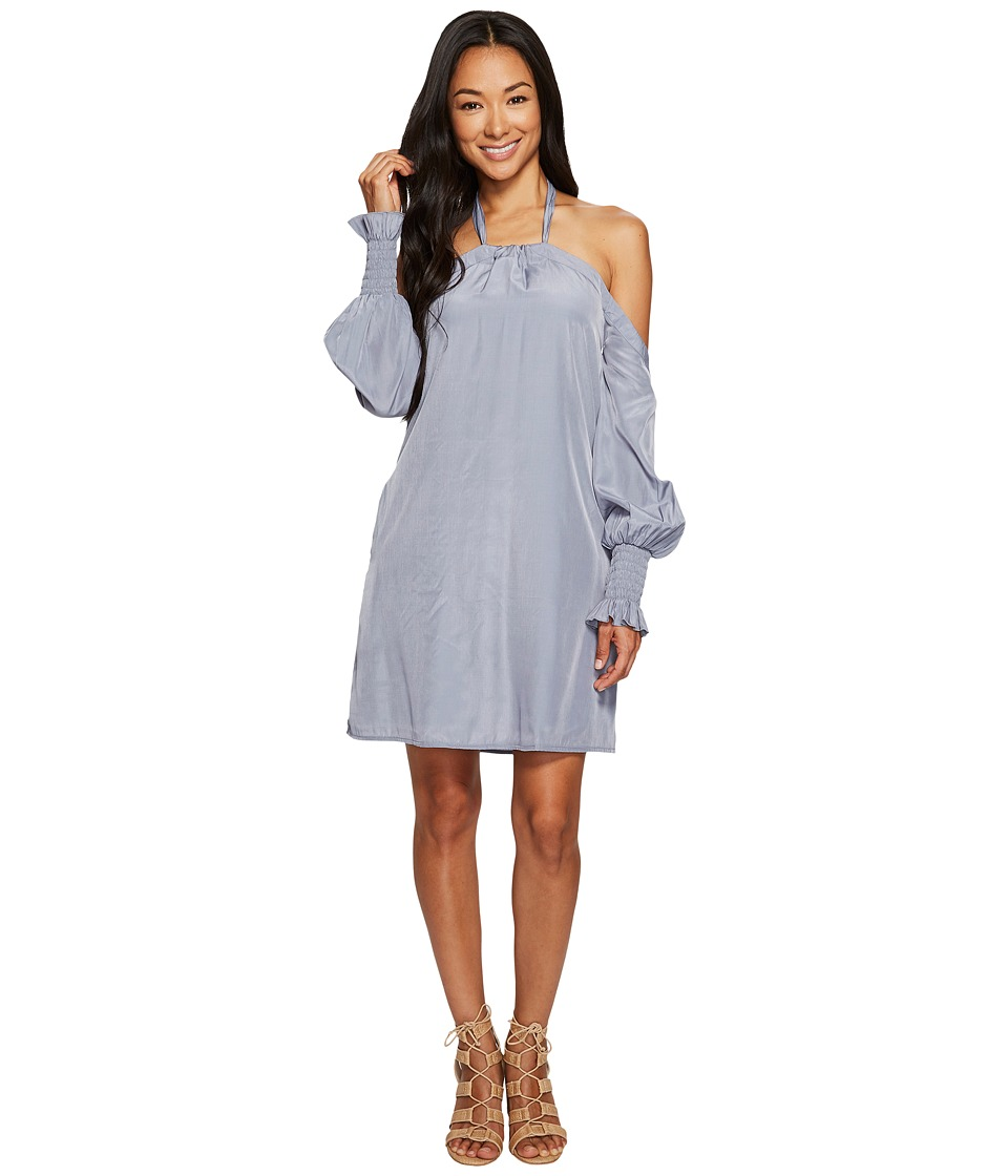 Union of Angels - Morrin Dress (Steel Blue) Women's Dress