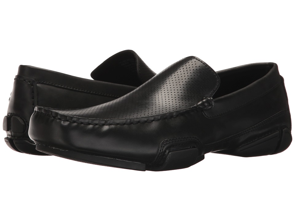 Kenneth Cole Unlisted - To Be Bold (Black 1) Men's Slip on Shoes