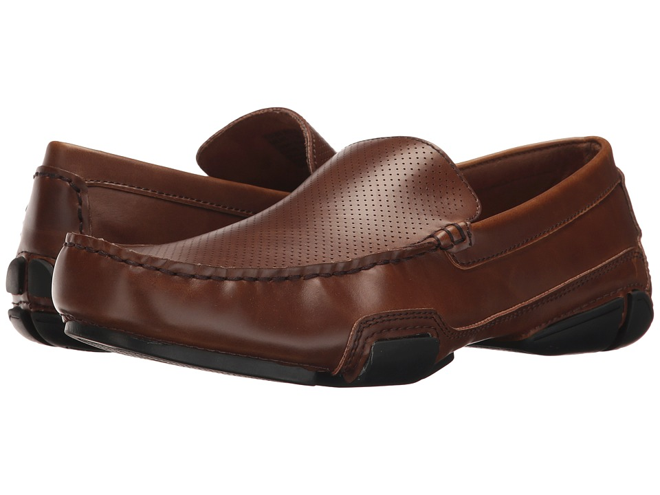 Kenneth Cole Unlisted - To Be Bold (Cognac) Men's Slip on Shoes