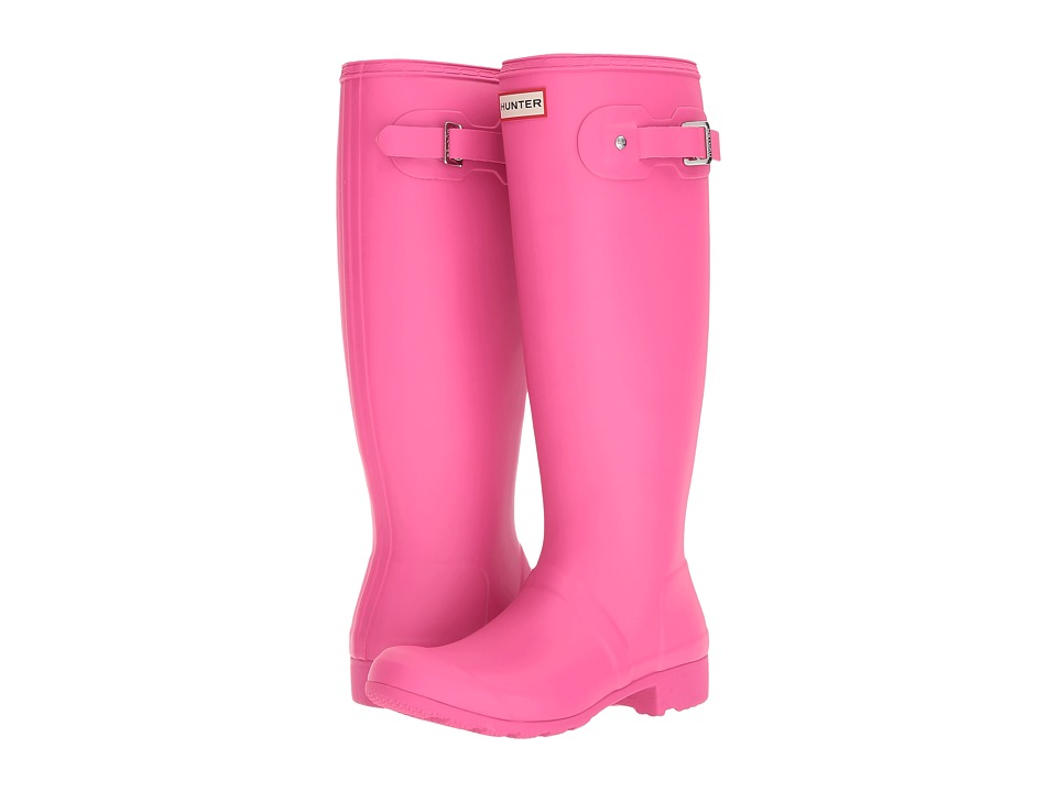 Hunter Original Tour Packable Rain Boot (Ion Pink) Women
