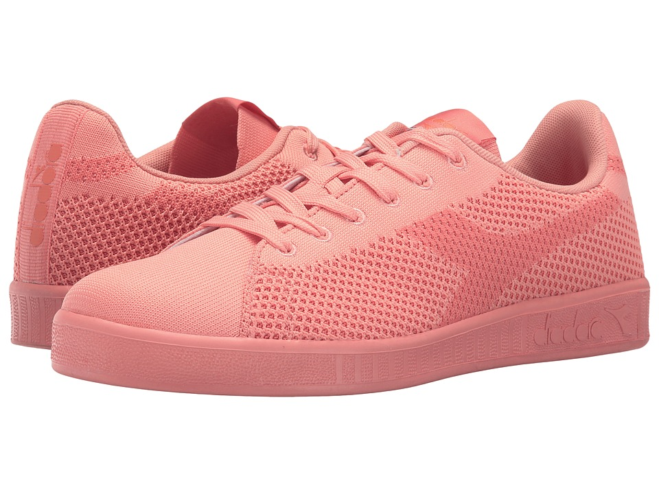 Diadora - Game Weave (Peach Pink) Athletic Shoes