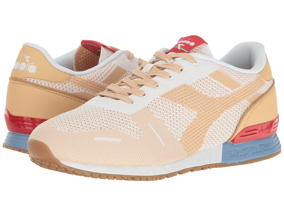 Diadora - Titan Weave (White/Sheepskin) Athletic Shoes