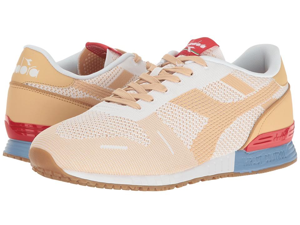 Diadora - Titan Weave (White/Sheepskin) Athletic Shoes