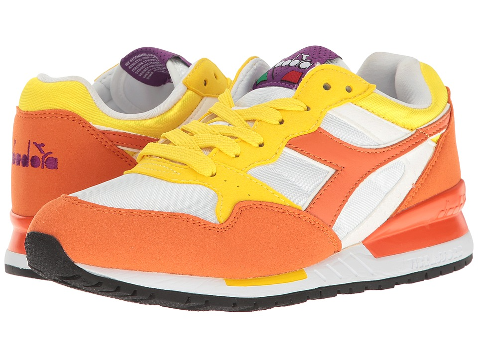 Diadora - Intrepid NYL (Vermillion/Orange) Athletic Shoes
