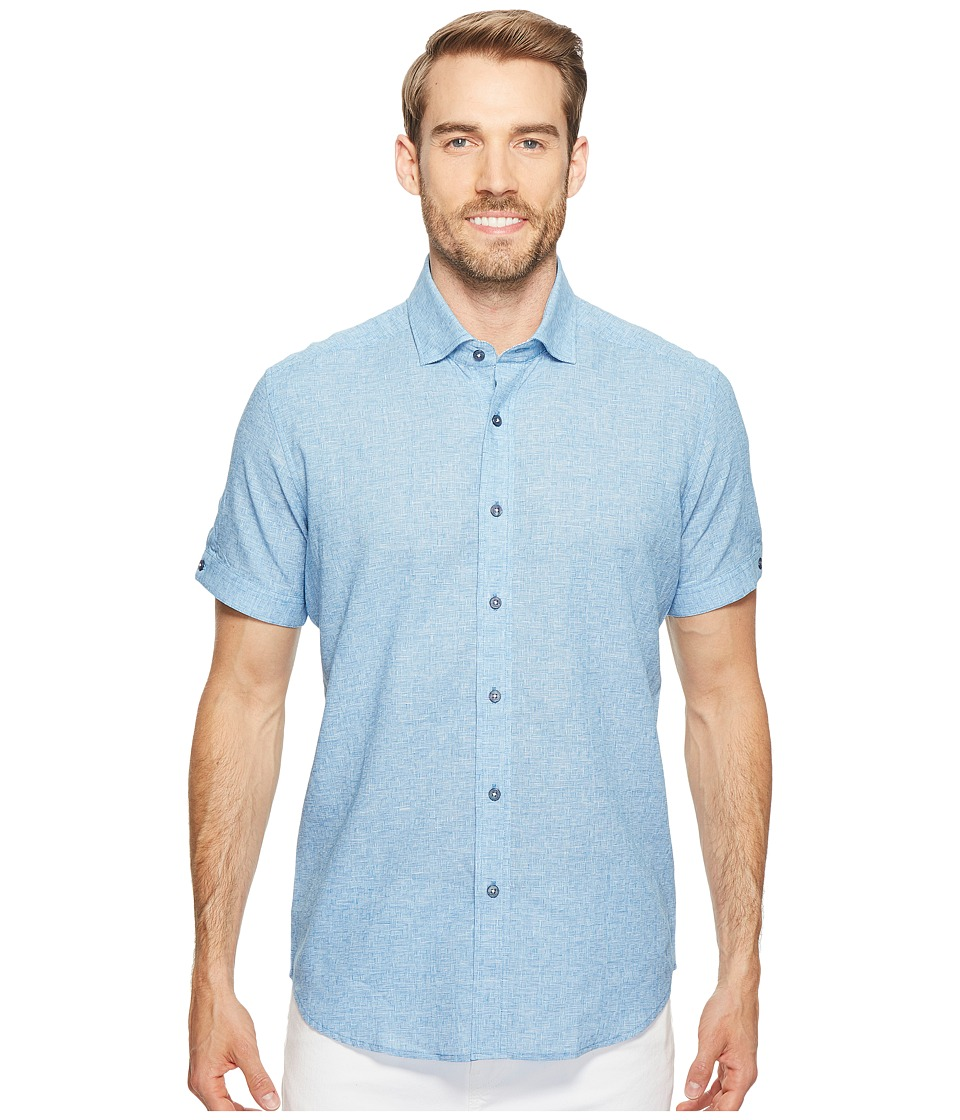Robert Graham - Modern Americana Ronny (Blue) Men's Clothing